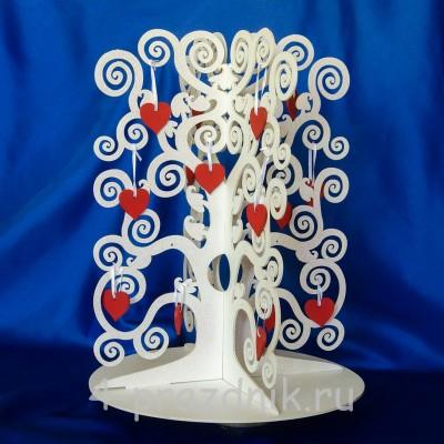 Свадебное дерево пожеланий, объемное 1298 оптом