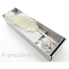 Ручка-перо на подставке Букет роз GL-123003