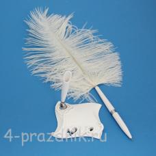 Ручка-перо на подставке LOVE GL-141003