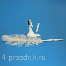 Ручка-перо на подставке Жених и невеста GL-155003