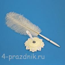 Ручка-перо на подставке Элегантная GL-161003