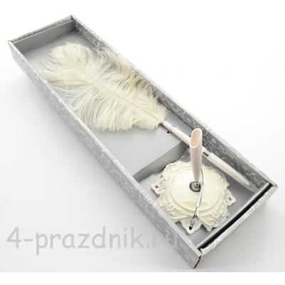 Ручка-перо на подставке Элегантная GL-161003 оптом