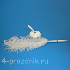 Ручка-перо на подставке Маргаритки GL-233003
