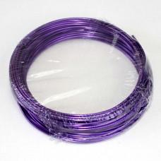 Проволока в кольцах Фиолетовый 2мм/12м 100гр