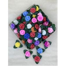 """Бант """"Роза №2"""" 100шт/уп  9600т.м. 74265"""