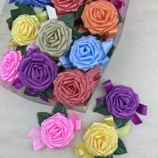 """Бант """"Роза №3"""" 36 шт/уп  1728т.м. 74264"""