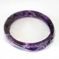 Проволока в кольцах темн.Фиолетовый 2мм/12м 100гр