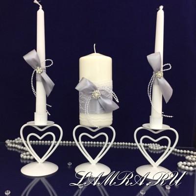 Свадебные свечи - семейный очаг купить в Москве.