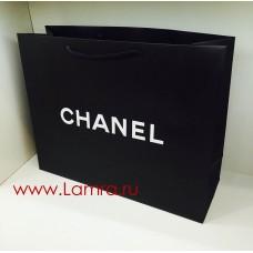 """Пакет подарочный """"CHANEL"""" черный 43*34*14см"""